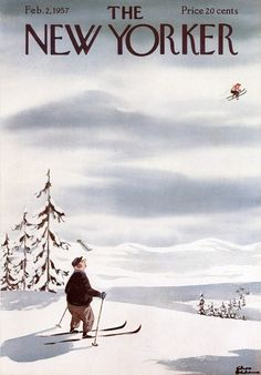 February 2, 1957 issue of New Yorker magazine. Illustration by Charles Addams.