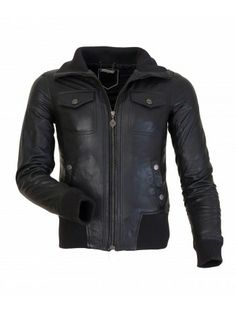 SKYRIM BLACK LEATHER BOMBER JACKET FOR WOMEN'S NOW ONLY FOR ...
