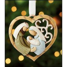 NATIVITY HEART ORNAMENT – Exquisitely Yours Merchandise Club - Your Gifts and Collectibles NEW ARRIVALS DAILY Visit Our NEW ARRIVALS Department Save 20% - 50% https://your-gifts-and-collectibles.myshopify.com