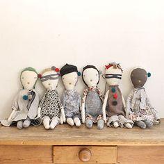 Envelope Online Shop - Jess Brown rag dolls