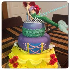 Princess cake!!! By Wildy's creations!!!