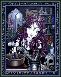 The Alchemist Gothic Alchemy Dark Faerie Butterfly Fantasy Hand Signed Art Print by Myka Jelina by MykaJelina on Etsy https://www.etsy.com/listing/26330747/the-alchemist-gothic-alchemy-dark-faerie