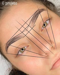 Eyebrow Makeup Tips, Permanent Makeup Eyebrows, Eyebrows On Fleek, Perfect Eyebrow Shape, Perfect Brows, Eyebrows Sketch, Face Threading, Makeup Business Cards, Eyebrow Design