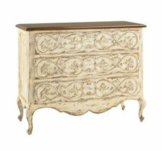 "Drawer Chest/ homegallerystores.com /$1185.00/ how much shipping? 45""W x 19""D x 36""H get coupon for 10% or 5%"