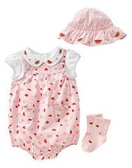 Vintage Gymboree Baby Girl Summer Picnic Watermelon 2008 Bubble Romper Set Toddler Girl Romper, Summer Picnic, Girls Rompers, Seersucker, Gymboree, Cute Outfits, Girl Outfits, Gingham, Cute Girls