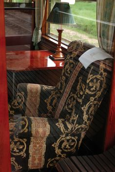 Opulence onboard the Orient Express....