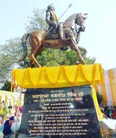 #maharajaranjitsingh, #jat, #jatsikh, #maharajaranjitsinghstatue Maharaja Ranjit Singh, Good Morning Beautiful Quotes, Statue, Sculptures, Sculpture