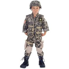 Underwraps Deluxe US Army Ranger Child Costume  sc 1 st  Pinterest & 25 best Army Costumes for Kids u0026 Adults images on Pinterest | Army ...