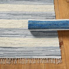 Shop for a fabulous Oslo Area Rug at Ballard Designs today and add a decorator floor accent you'll love. Get our Oslo Area Rug to spice up your living space! Wool Carpet, Rugs On Carpet, Carpets, Stair Carpet, Luxury Flooring, Rustic Bedding, Linen Bedding, Striped Rug, Indoor Outdoor Area Rugs