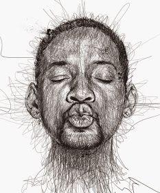 Por el Amor del Art-E: El arte del garabato Portrait Au Crayon, Pencil Portrait, Funny Drawings, Art Drawings, Pencil Drawings, Drawing Portraits, Realistic Drawings, Vince Low, Illustrator