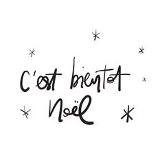 Christmas in French greeting. Joyeux Noel card with golden and silver Christmas ornaments decoration of snowflakes. Joyeux Noel Calligraphic lettering design on white background Merry Christmas Quotes, Noel Christmas, Merry Little Christmas, Merry Xmas, Simple Christmas, Winter Christmas, Christmas Ideas, Xmas Quotes, Holiday Quote