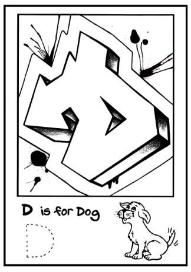 Coloring Pages Letter D Coloring Pages is for Graffiti Alphabet Coloring Book Free Graffiti Letter D, Graffiti Books, Best Graffiti, Graffiti Font, Graffiti Drawing, Graffiti Murals, Coloring Letters, Alphabet Coloring Pages, Free Printable Coloring Pages