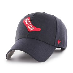 reputable site bcc96 88fe9  47 Men s Boston Red Sox MVP Hat