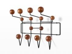 Eames Hang-It-All - Herman Miller Old Chairs, Eames Chairs, Charles & Ray Eames, Hanging Racks, Chairs For Sale, Finding A House, Neutral Colors, Hair Accessories, Herman Miller