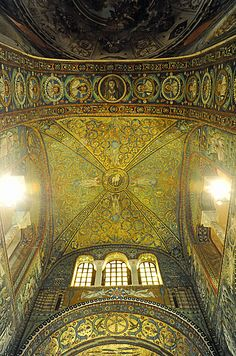 "Basilica of San Vitale - ""The exquisite Ravenna mosaics"" by @Kathryn Burrington"