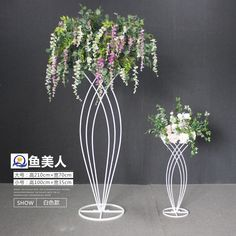 Metal flower stand for wedding party event decoration, wedding walkway, wedding . - Metal flower stand for wedding party event decoration, wedding walkway, wedding table centerpiece - Candelabra Centerpiece, Feather Centerpieces, Wedding Table Centerpieces, Wedding Decorations, Wedding Walkway, Flower Stands, Hotel Decor, Wedding Stage, Diy Wedding