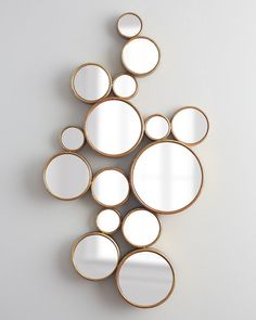 Bubbles Mirror.  This mirror could be utilized in any room of the house.