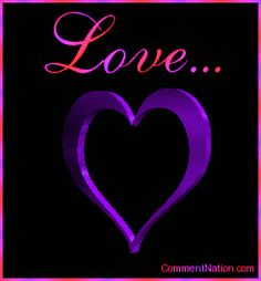 beautiful animated gif hearts | Love Color Changing 3d Heart MySpace Glitter Graphic Comment