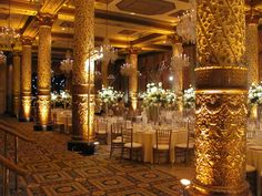 The gold coast room of Drake hotel in Chicago.....this is my reception room! And it's happening....FOR REAL!!!!