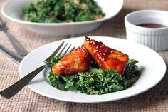 BBQ Tofu on Garlicky