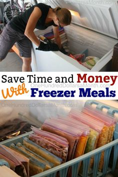 Freezer Cooking Save Time and Money with Freezer Meals - Save Time and Mon. - Freezer Cooking Save Time and Money with Freezer Meals – Save Time and Mon… – Freezer - Bulk Cooking, Cooking 101, Cooking On A Budget, Freezer Cooking, Cooking Hacks, Cooking School, Budget Freezer Meals, Make Ahead Freezer Meals, Crock Pot Freezer