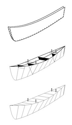 Drop-in Boat Outriggers - Michael Storer Wooden Boat Plans
