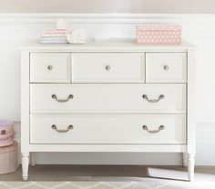 Find children's furniture that your kids will love for their room. Shop Pottery Barn Kids' furniture featuring beds and more in styles that will create the ultimate room. Wood Drawers, Small Drawers, Storage Drawers, Pottery Barn Kids, Extra Wide Dresser, Changing Unit, Kids Dressers, White Dressers, Bedroom Dressers