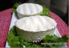 Mexican Queso Fresco, made at home. Easy recipe with step by step photo tutorial.