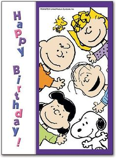 """, from Snoopy, Charlie Brown, Lucy, and Linus. Peanuts Happy Birthday, Happy Birthday Quotes, Happy Birthday Images, Happy Birthday Greetings, Snoopy Birthday Images, Happy Birthday Charlie Brown, Birthday Sayings, Funny Birthday, Snoopy Love"