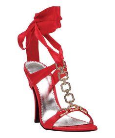 1f6391fb60d25d Ellie Shoes Red Rona Sandal