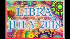 LIBRA LOVE TAROT READING JULY 2018! Tarot Horoscope, Love Tarot Reading, Sagittarius Love, Leo Love, Horoscopes, Neon Signs, Youtube, Cancer, Horoscope