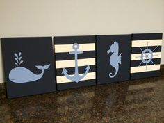 Hey, I found this really awesome Etsy listing at https://www.etsy.com/listing/205196385/nautical-nursery-baby-boy-seahorse-whale