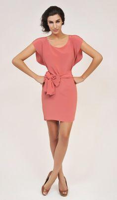 #amourvert Orchidee Coral Dress - Peace Silk