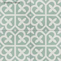 Comes in a lot of different colors  Cement Tile Shop - Encaustic Cement Tile Mahlia