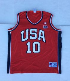 fb9fc3657712 1990s Vintage Holdsclaw Team USA Basketball Jersey - 90 s Champion Basketball  Jersey - 90s Hip Hop C