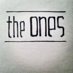 Hand drawn Typography on Behance