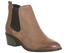 Office Jenkins Chelsea Boots New Brown Leather - Ankle Boots Office Boots, Keds Sneakers, Shoe Boots, Shoes, Over The Knee Boots, Fashion Boots, Chelsea Boots, Brown Leather, High Heels