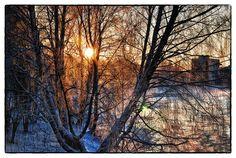 """Chris Styp - """"Wintersonne"""" // myphotobook Fotocontest Februar 2013, Thema: """"Es werde Licht!"""""""