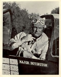 4/4/14  5:17a  ''Black Sheep Squadron''  Robert Conrad  was  Born March 1935. In the series he was older than 'Pappy'' Boyington was during WW2 and instead  of 10 years it's more like 20 years difference with his young crew in the TV  series.  They had called him Pappy because he was 10-12 years older than  the  Flight Pilot Crew.