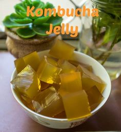 Gelatin helps to support the thyroid, it opposes estrogen and supports progesterone (a good thing because many, many women are estrogen dominant), promotes a good sleep and<br />helps to soothe and heal the GI tract. Kombucha is a pro-biotic rich food which will help to balance the gut flora.