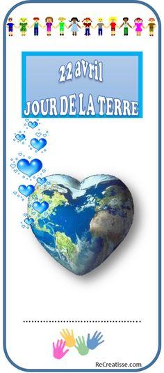 marque-page JOUR DE LA TERRE