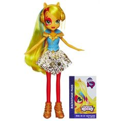 My Little Pony Equestria Girls Applejack Doll (Neon Rainbow Rocks) My Little Pony http://www.amazon.com/dp/B00I67FG1M/ref=cm_sw_r_pi_dp_MsZJvb06DE0PP