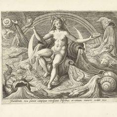 Water, Adriaen Collaert, after Maerten de Vos, 1580 - 1584 - Rijksmuseum