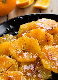 quick Oranges dessert recipe