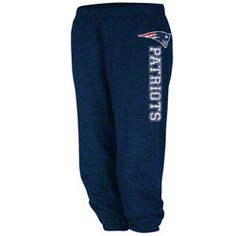 New England Patriots - Women's Navy Sport Princess Pants