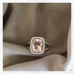 View informal photos of recently purchased engagement rings. Filter these recently purchased engagement rings by center stone type or setting style. Colored Engagement Rings, Split Shank Engagement Rings, Gemstone Engagement Rings, Rose Gold Engagement Ring, Halo Engagement, Rose Gold Morganite Ring, Pink Gemstones, Morganite Engagement, Bridal Accessories