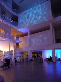 High Museum of Art Special Events | Dramatic lighting sets the stage in the signature Richard Meier design. Rental information: www.high.org/specialevents