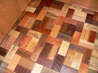 Barnwood Bricks Mixed Hardwoods Floor