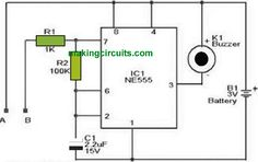 In this article we talk about an easy water level alarm circuit using a 555 timer designed to generate an audible alarm as soon as the water level reaches