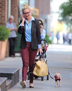 Get the Look: Katherine Heigl's Preppy Street Style